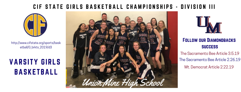 Union Mine High School - Winter Sports 2018